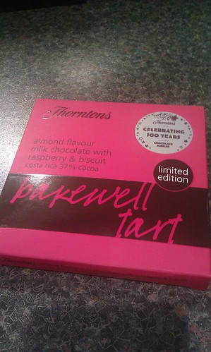 Thorntons Bakewell Tart Bar