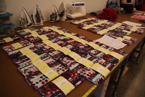 Habitat Challenge fabric ready to go by myredbike