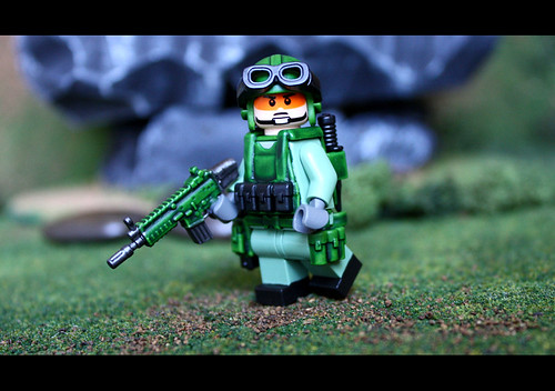 Custom minifig Wilderness Trooper