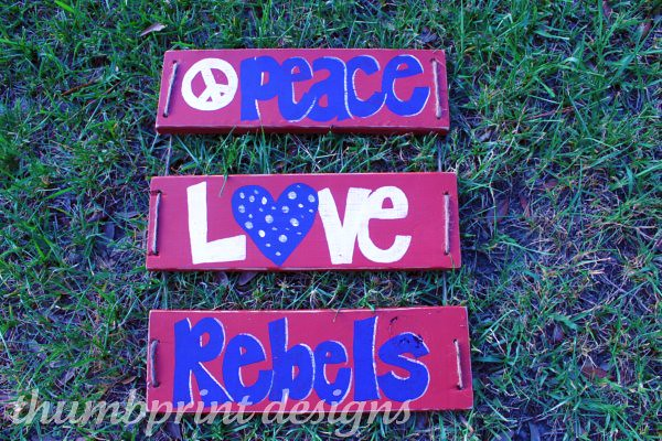 peace love rebels - front