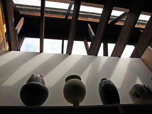 Wayne Ngan's ceramic studio, Hornby Island
