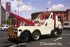 N 371-2A  01 (chausson bs) Tags: barcelona 2001 trucks catalunya grua tmb camiones camions