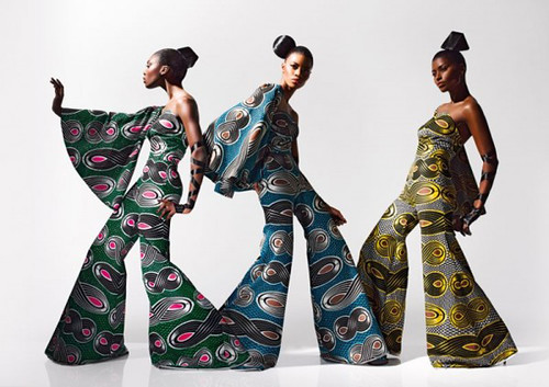 Dazzling Graphics' fabric collection from Vlisco - 4