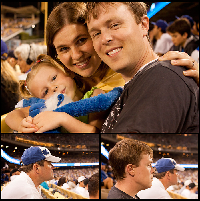 Dodger Game Family
