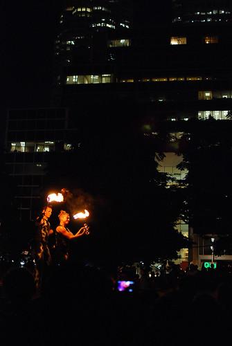 FlameOz, Buskerfest 2011 - #238/365 by PJMixer