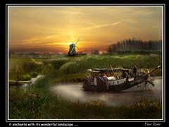 it enchants with its wonderful landscape .