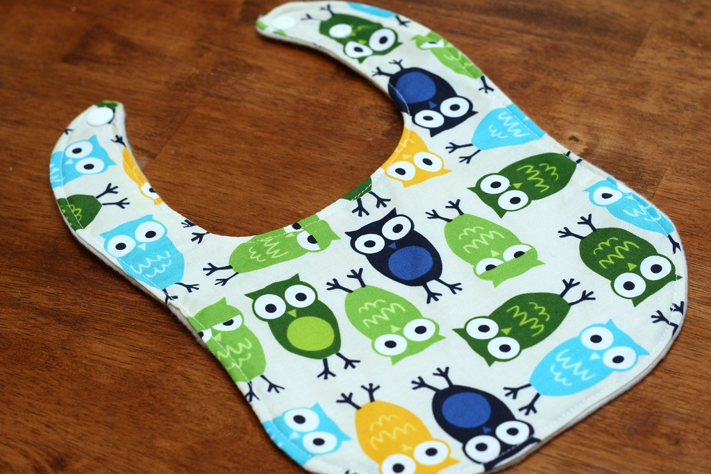STITCHED by Crystal: Tutorial: Drool Proof Baby Bib