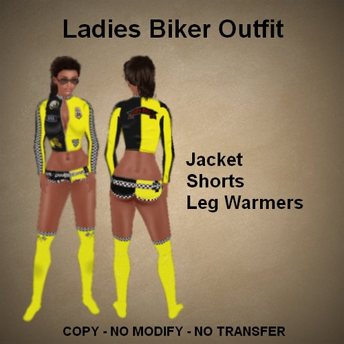 Lady Biker Outfit