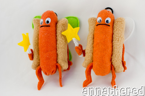 stuffed stuff: Hot Dog Fairy - PAX exclusive