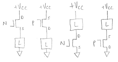 which mosfet topology