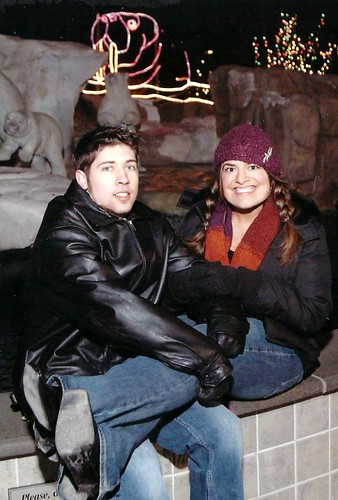 Freezing my clitoris off on a slab of cold concrete we posed for ...