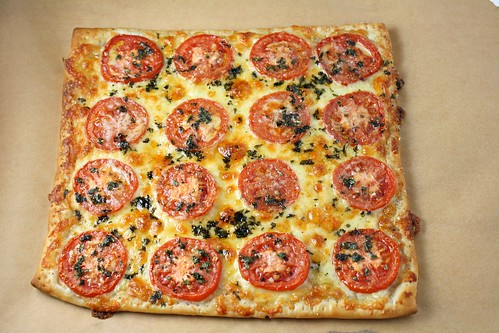 Three Cheese and Tomato Tart