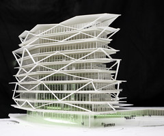 OAS Study Model 1 (CM f5.6) Tags: architecture office business ghana commercial mca accra greenbuilding actis laurus airportcity mariocucinella cucinella oneairportsquare laurusdevelopmentpartners officespaceaccra