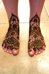 bridefeet (hilarys_henna) Tags: wedding bridal henna bodyart redwoodvalley