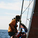 Sailing away from Haida Gwaii