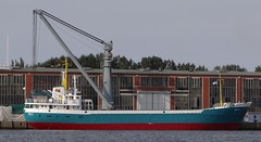 HELA - IMO 6702284 (arnekiel) Tags: 1966 caterpillar coaster kiel mak imo freighter hela kmo sietas 6702284