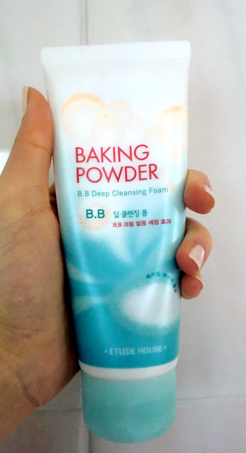 etude house baking powder cleanser