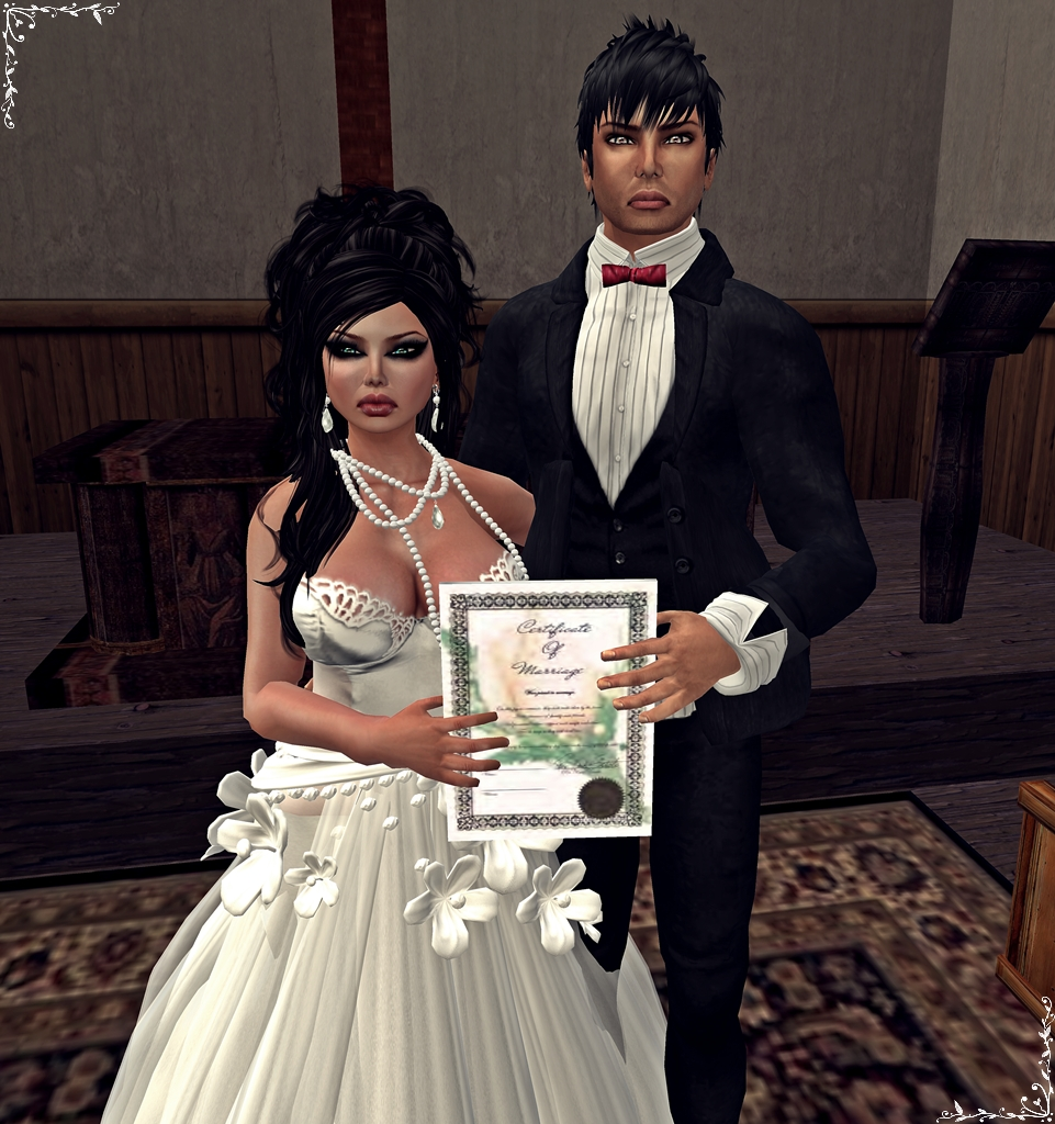 Seil - Wedding Certificate of my love for you