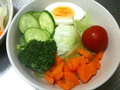 朝食サラダ(2011/9/4)