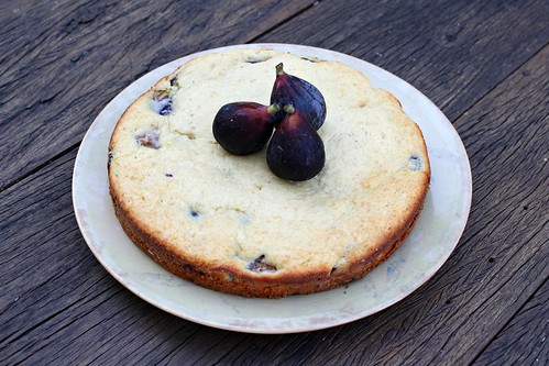 Fig Yogurt Cake