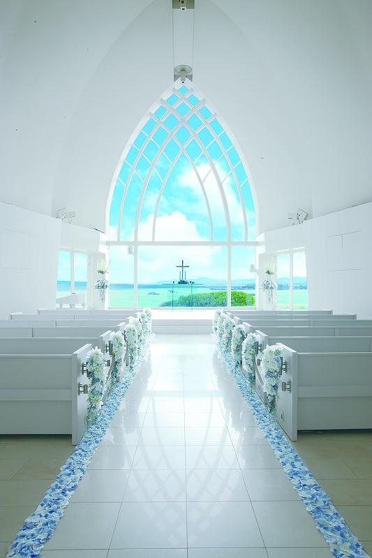 沖繩海外婚禮 艾葵露雀教堂  Aqualuce Chapel