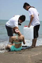 (阿敗) Tags: 桃園 外拍 觀音 風車 海灘