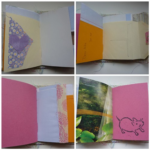 Rooster book pages