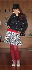 31.08.2011 (myothersideoftheworld) Tags: wardroberemix hats tights flats vests skirts