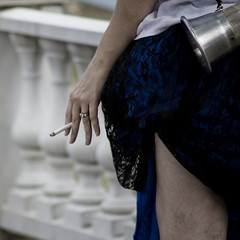 cigarette, wedding ring, drinking horn (tango.mceffrie) Tags: ladies queens kings knights faire lords squires rennaissance turkeylegs