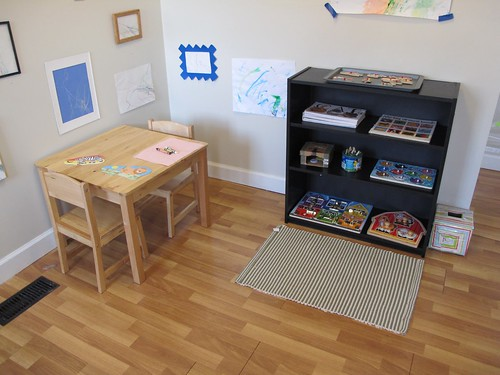 Kitchen Corner (Photo from Peaceful Parenting)