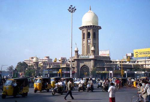 Hyderabad street corner