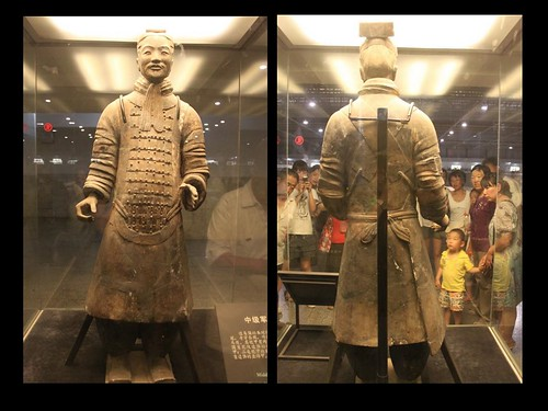 Middle-ranking Officer at Museum of Qin Terra-cotta Warriors and Horses, Xi'an, China