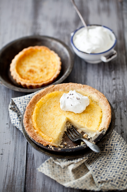 Lavender & Buttermilk Pie