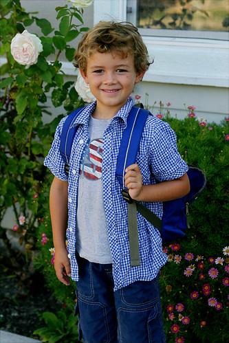 brand new first grader!
