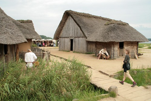 Die Wikinger Häuser in Haithabu – Museumsfreifläche Wikinger Museum Haithabu WHH 04-09-2011