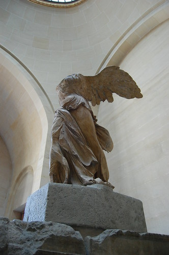 Winged Victory in the Louvre