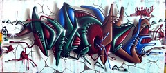 mion (neppanen) Tags: streetart art finland graffiti helsinki legal mion kalasatama discounterintelligence sampen