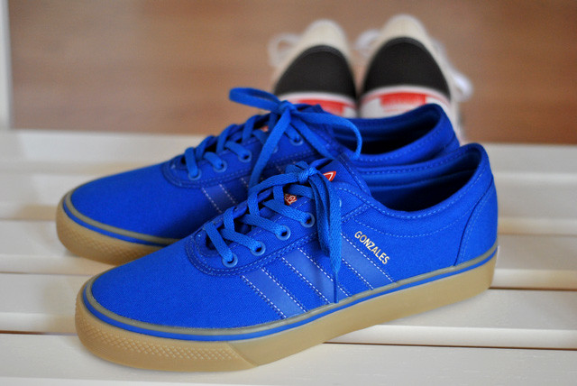 huge selection of f7807 b3a0c Adidas Skateboarding Ease Gonz (www.snkrs.com) Tags blue red gum . ...