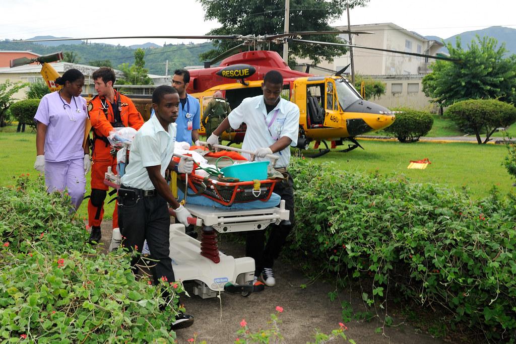 Medical evacuation during Op JAGUAR