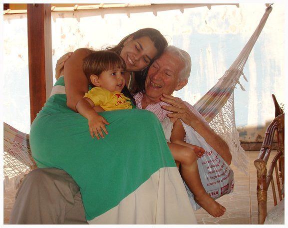 Marcelo, Mamãe e Vovô Deo