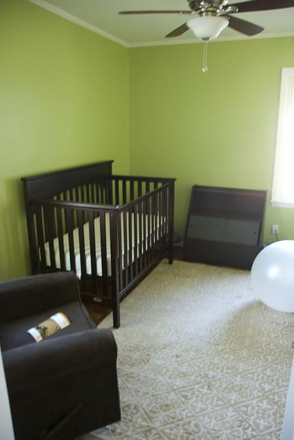 baby room progress