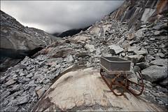 mer de glace (heavenuphere) Tags: snow france mountains alps ice alpes landscape rocks glacier sleigh chamonix 1022mm montblanc merdeglace massif hautesavoie rhônealpes chamonixmontblanc