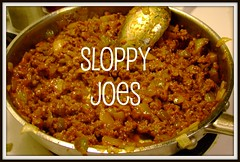 SLOPPY JOE BUTTON