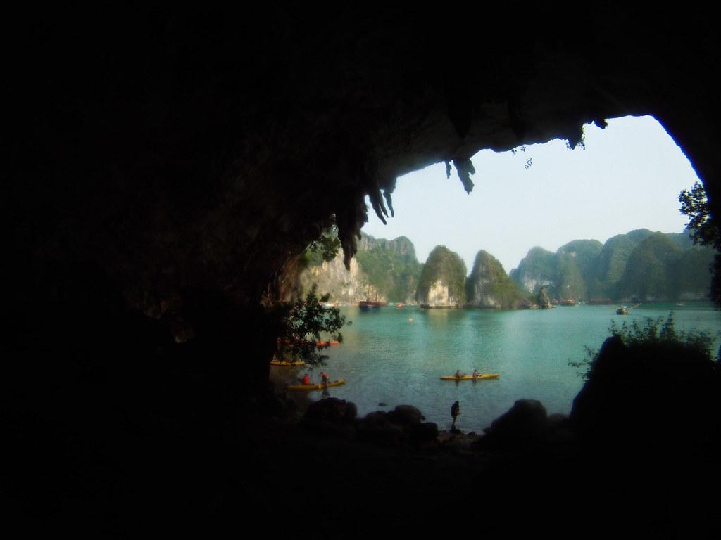 Islas de Ha Long desde otro ángulo