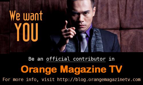 Orange Magazine TV is looking for contributors