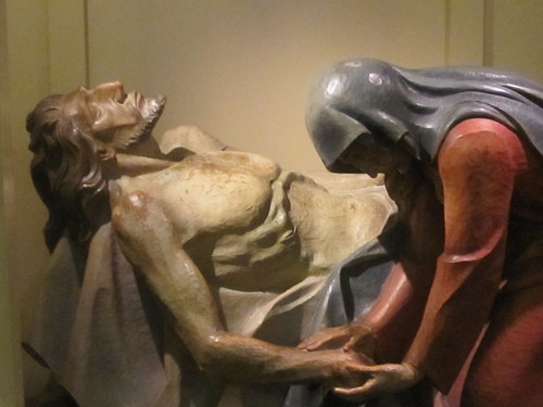Mary and Jesus Sculpture