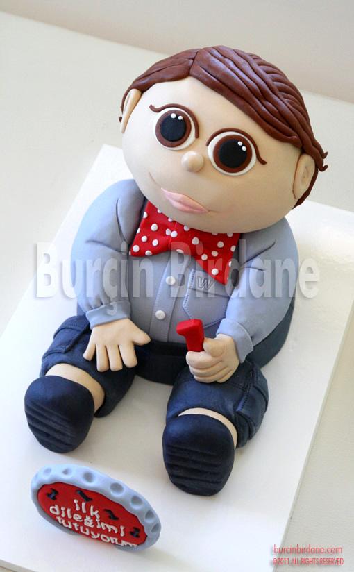 Erkek Bebek Pasta 1