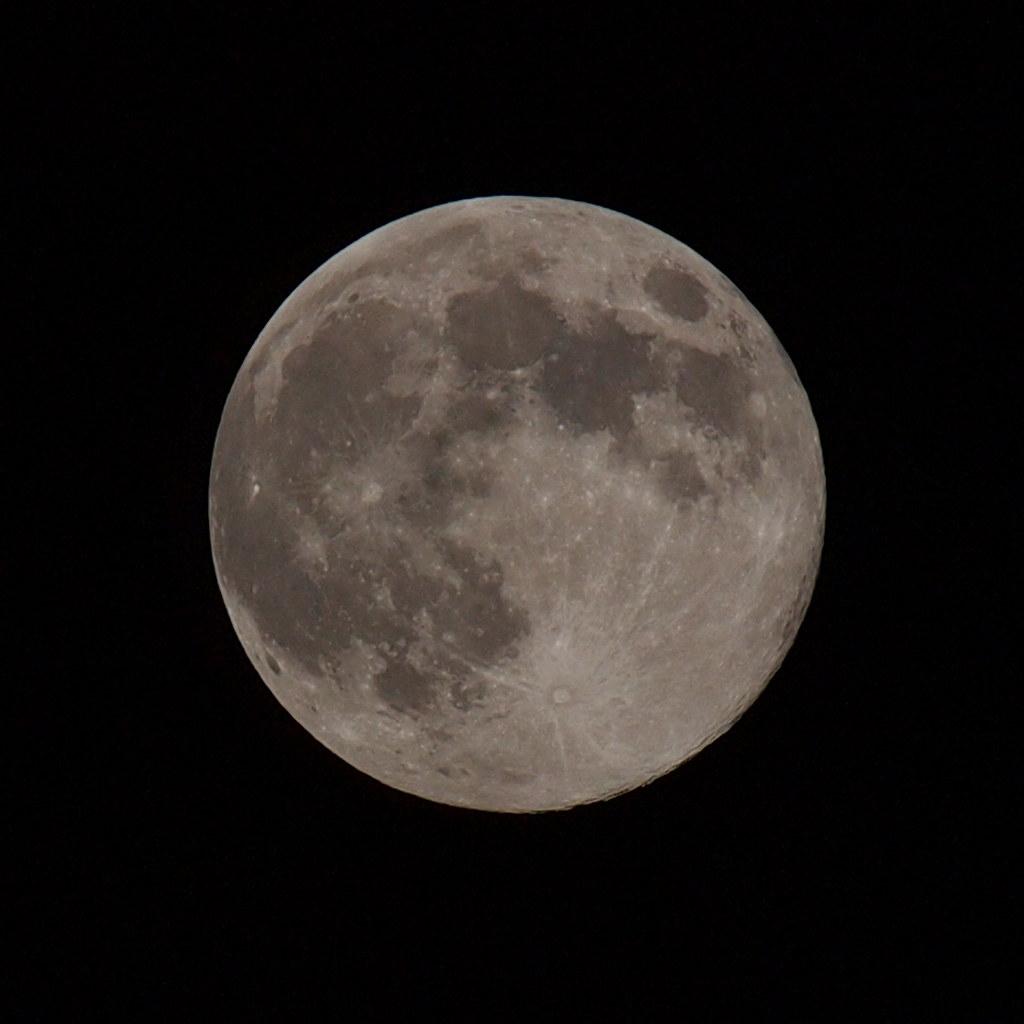 The harvest moon