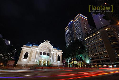 Saigon Night Flow (Saigon Opera House)