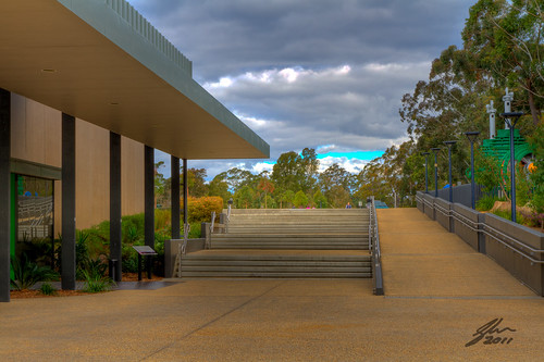 Warragamba Dam Visitors Centre by Glen Adamson